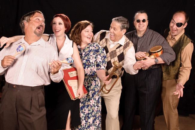 The company of Side Man at Colonial Players