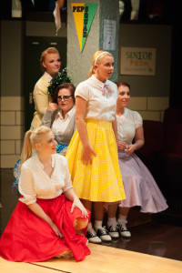 Toffee (C- Allison Comotto) and the girls of Enrico Fermi High