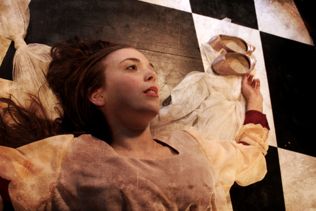 Jenna Rossman as Eliza in The Mesmeric Revelations! of Edgar Allan Poe