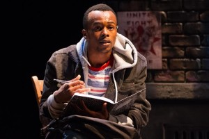 Justin Weaks as Darius in Darius & Twig at The Kennedy Center