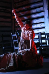 Susan McCully as Agatha in Kerrmoor at Strand Theatre and Interrobang Theatre Company