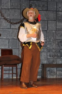 Michael Hulett as Don Quixote the Man of La Mancha in Man of La Mancha