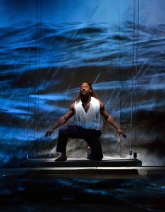 Wayne T. Carr as Pericles, Prince of Tyre in Pericles at Folger Theatre