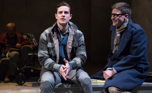 Chris Dinolfo (left) and Sam Ludwig (right) in Sons of the Prophet at Theater J