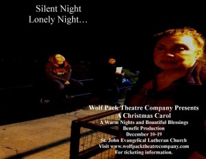 Susan Smithers in A Christmas Carol at Wolf Pack Theatre Company