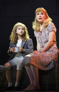 Mabel Tyler (Matilda Wormwood) and Jennifer Blood (Miss Honey)
