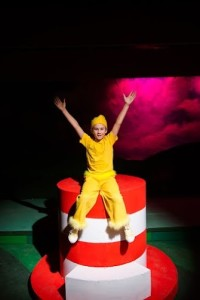 Erik Peyton in Seussical at NextStop Theatre