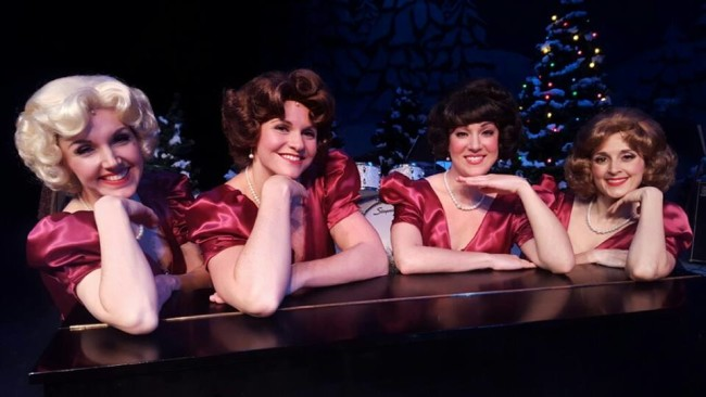 The Taffetas in A Taffeta Christmas at Dundalk Community Theatre