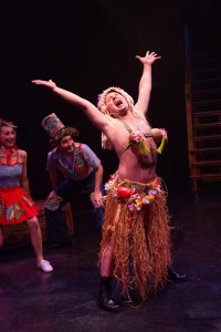 Jeffrey Shankle as Luther Billis in South Pacific at Toby's Dinner Theatre