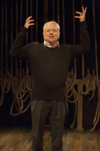 Ed Dixon in Georgie at Signature Theatre