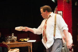 Thom Eric Sinn as David O. Selznick in Moonlight & Magnolias at Spotlighters Theatre