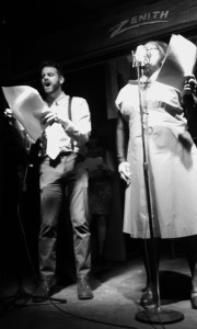 "Rex Anderson (left) as Joe and Kay-Megan Washington (right) as Maggie in ""To Have and to Hold"" by Eidhnean Illuviel"
