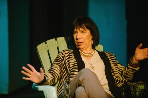 Julie Herber as Emma in Stupid Fucking Bird at Maryland Ensemble Theatre