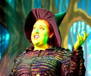 Stacey Bonds as The Wicked Witch of the West in The Wizard of Oz at The Suburban Players