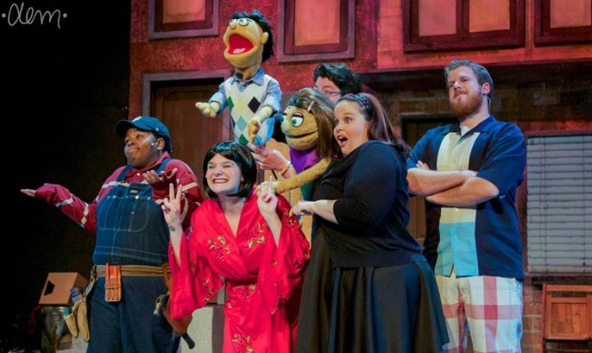 Avenue Q Christmas Eve.Review Avenue Q At Phoenix Festival Theatre Theatrebloom