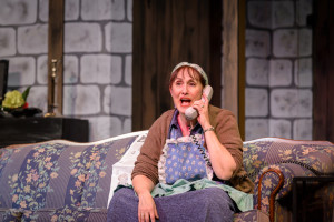 Maribeth Vogel as Dotty in Noises Off at Silhouette Stages