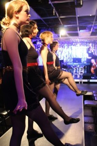 The ensemble of Cabaret at The Highwood Theatre