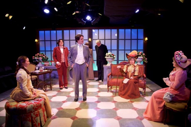 The Company of Annapolis Shakespeare Company's production of The Importance of Being Earnest