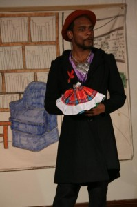Mike Smith as Jeremy in Harry and the Thief at Strand Theater Company