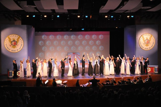 "The Company of Hexagon's ""Red, White, & Voters' Blues"" the 61st Annual show"