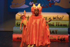 JacQuan Knox as Sour Kangaroo in Seussical! The Musical