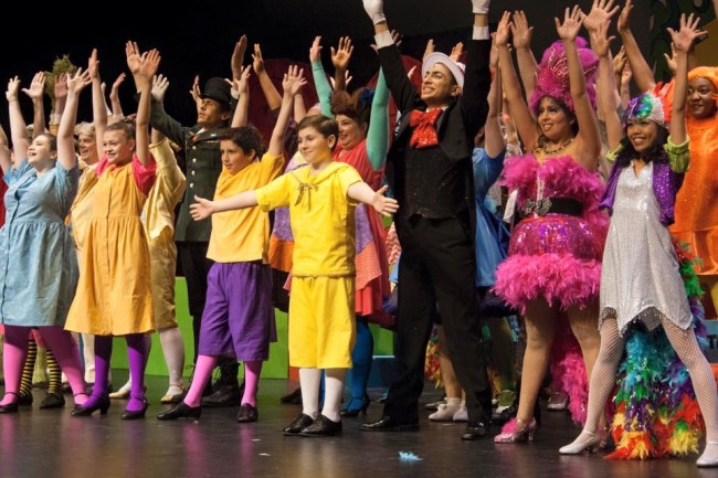 The cast of Seussical! The Musical at Charm City Players