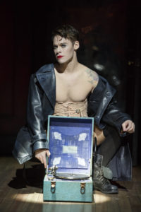 Randy Harrison as theEmcee in the National Tour of Roundabout Theatre Company's CABARET