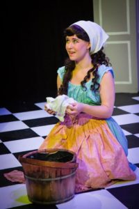 Shelly Hierstetter as Cinderella in MET's Fun Company production of Cinderella