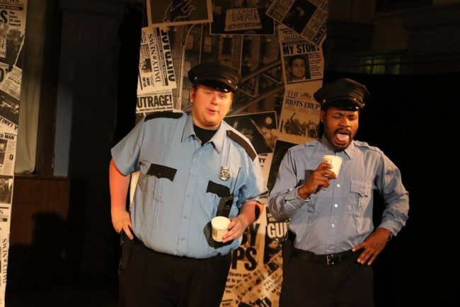 Bobby Henneberg (left) as Flip and Terrance Fleming (right) as Dece in Force Continuum