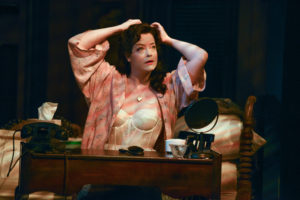 Megan Anderson as Stella in A Streetcar Named Desire at Everyman Theatre
