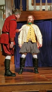 David Forrer (left) as Antigonus and Conrad Deitrick (right) as Camillo in The Winter's Tale