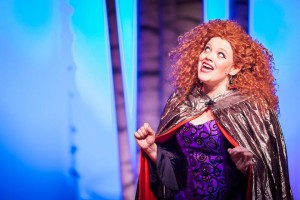 Kristen Zwobot as The Witch in Reisterstown Theatre Project's Into the Woods