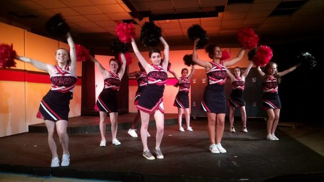 "The Cheerleaders of 13: The Musical doing ""Opportunity"""