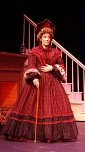 Holly Pascullo as Aunt March in Little Women