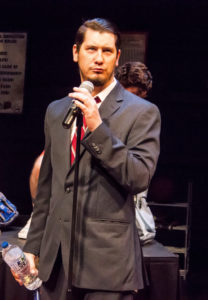Daniel Johnston as Vice Principal Douglas Panch in The 25th Annual Putnam County Spelling Bee
