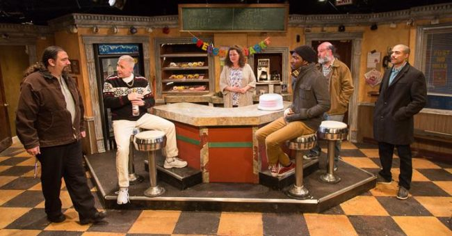 The ensemble of Superior Donuts at the MET