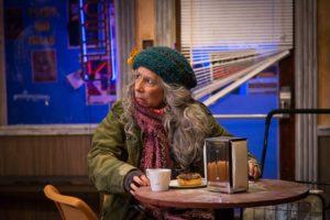 Julie Herber as Lady Boyle in Superior Donuts at MET