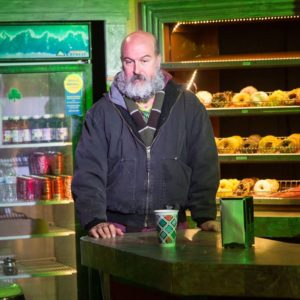Tad Janes as Arthur Przybyszewski in Superior Donuts at the MET