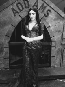 Rachel Miller as Morticia Addams in The Addams Family