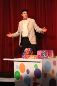 Orbie Shively as The Candy Man in Willy Wonka at The Salem Players