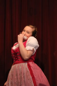Molly McNair as Augusta Gloop in Willy Wonka