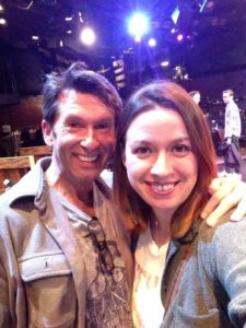 Actors Darren McDonnell and Coby Kay Callahan circa South Pacific 2016 at Toby's Dinner Theatre of Columbia