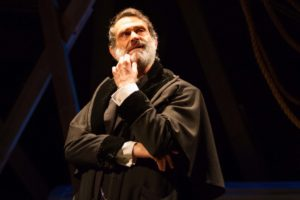 Matthew Boston is Shylock the moneylender in the world premiere of Aaron Posner's District Merchants.