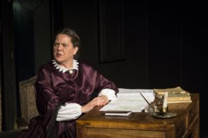 Laura Stark in the 2013 re-production of Finally Heard: The Heroines of an Uncivil War, MET's first mainstage production.