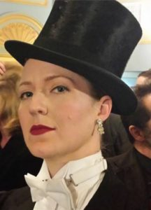 Gwen Grastorf, company member of Happenstance Theater