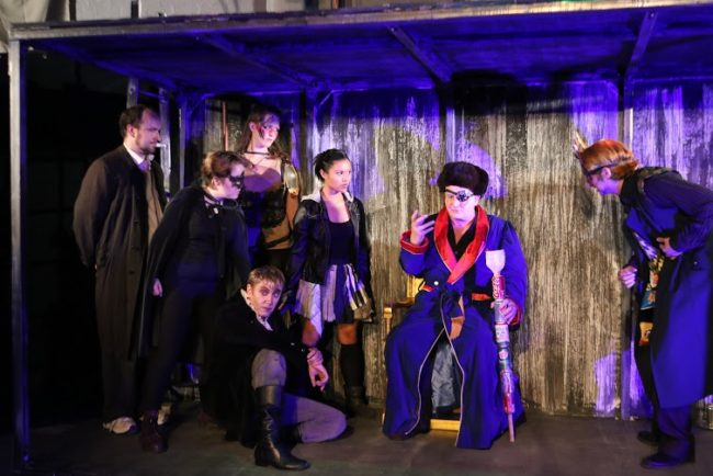 The cast of Neil Gaiman's Neverwhere at Cohesion Theatre Company