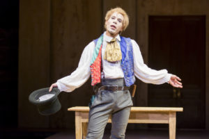 Jon Hudson Odom as M'Closky/George in An Octoroon at Woolly Mammoth Theatre Company