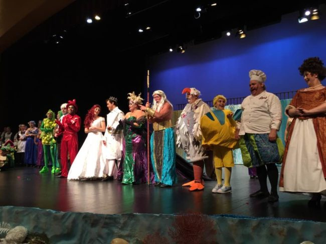 The Company of The Little Mermaid at Charm City Players