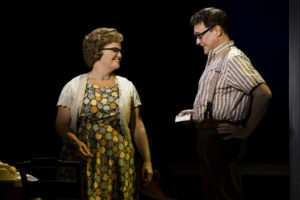 Mary Callanan (Marge) and David Hess (Charlie) in the national tour of THE BRIDGES OF MADISON COUNTY.