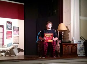 Jack Buzard as Man in Chair in The Drowsy Chaperone